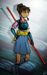 Nanase sketch by Tora-san