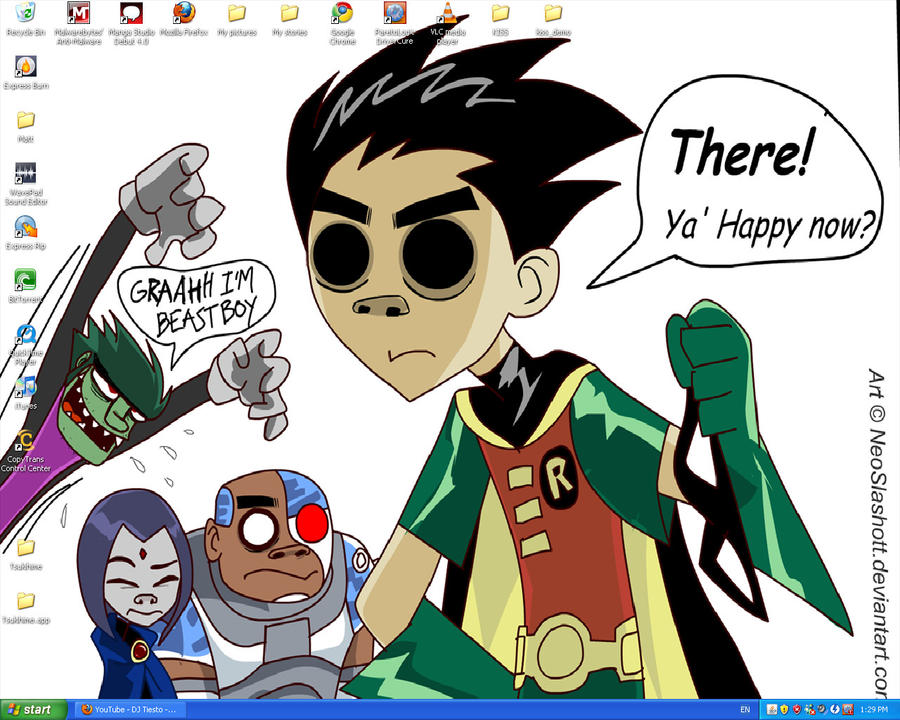 My new desktop teen titans by catchra13 on deviantart my new desktop teen titans by catchra13 voltagebd Images