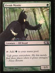 Elvish Mystic is Batman by LaineyElaina
