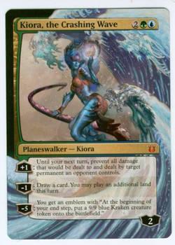 Kiora, The Crashing Wave Partial Extension
