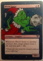 Blood Artist Grinch