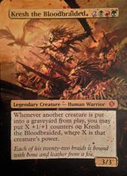Kresh, The Bloodbraided Extended Art