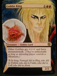 David Bowie Goblin King Alter