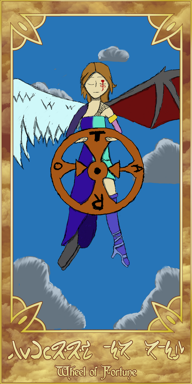 SoC: Tarot Cards wheel of Fortune by Galaxywolves
