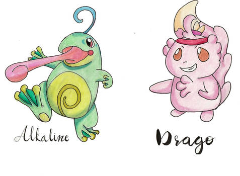 Alkaline and Drago