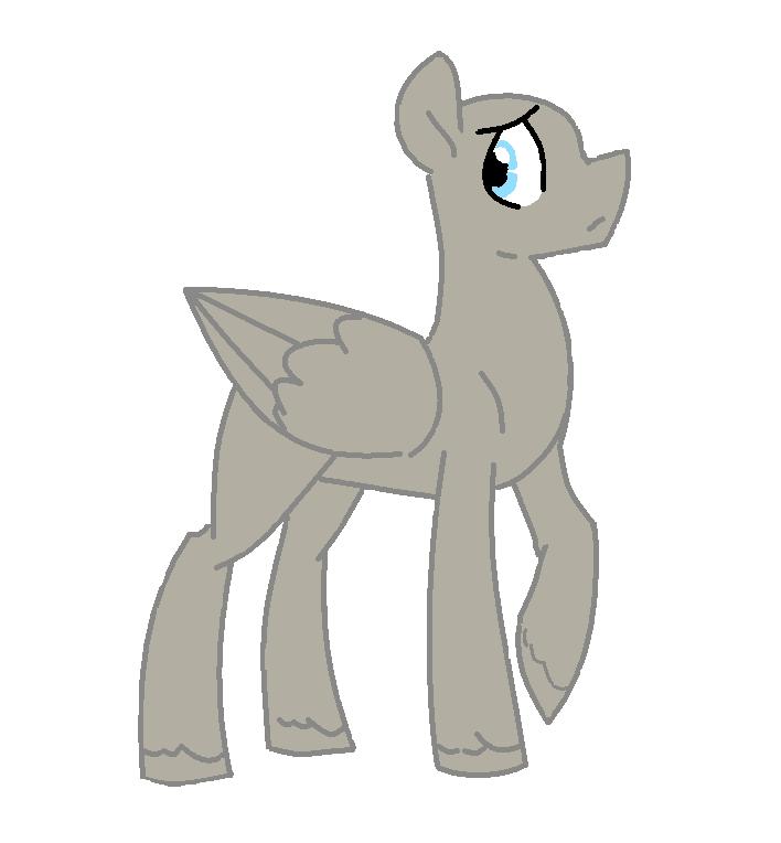 Cute Horse Base Ms Paint