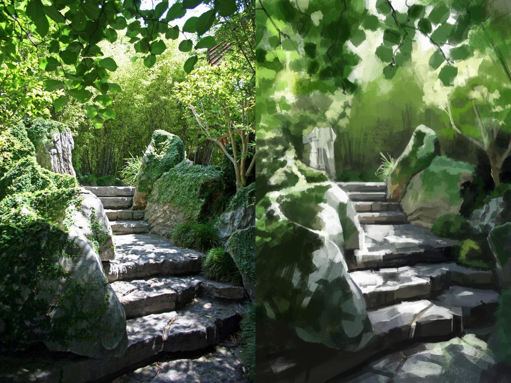 Garden Speedpaintstudy by FE-W