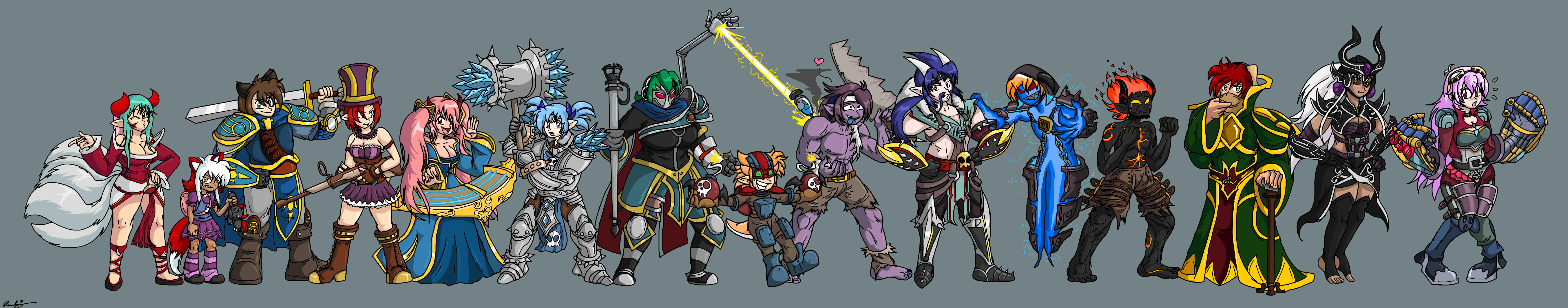 League of Heartcore by SHITFORBRAINSCHAN