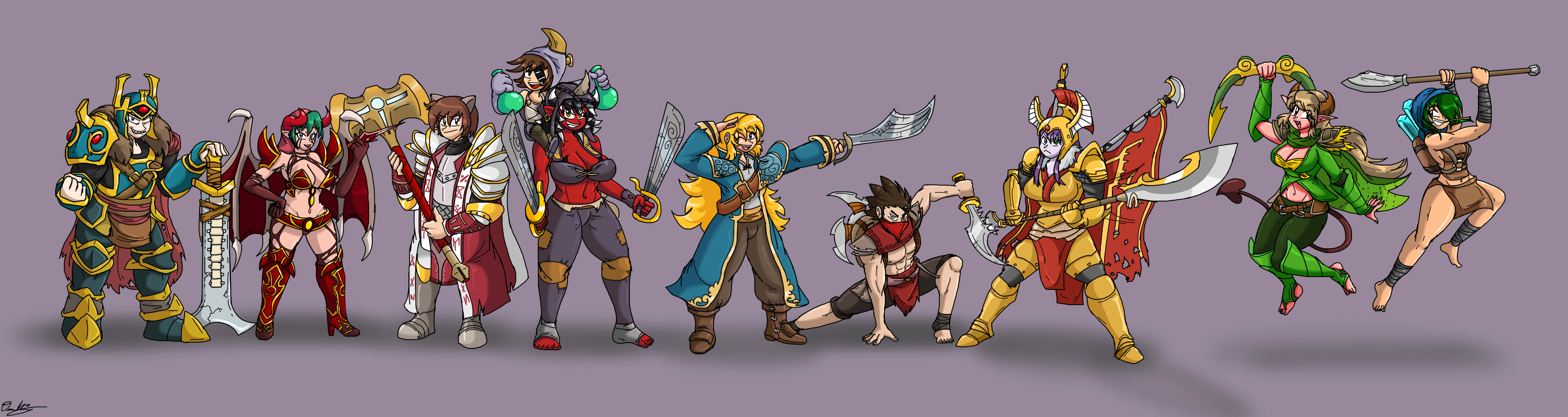 Deviants Of The Ancients by SHITFORBRAINSCHAN