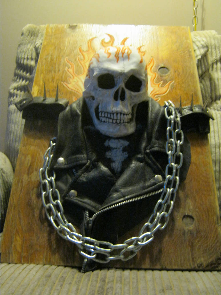 Ghost rider real 3d art 2 by jdmacleod on DeviantArt