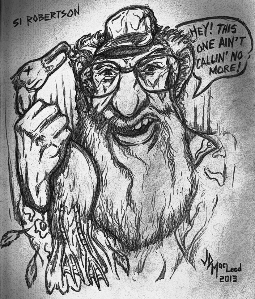 si of duck dynasty by jdmacleod on deviantart