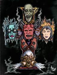 Hell n' Crosses: Color by jdmacleod