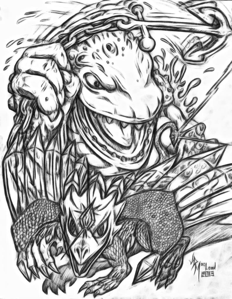 Skylanders Giants Thumpback Coloring Pages