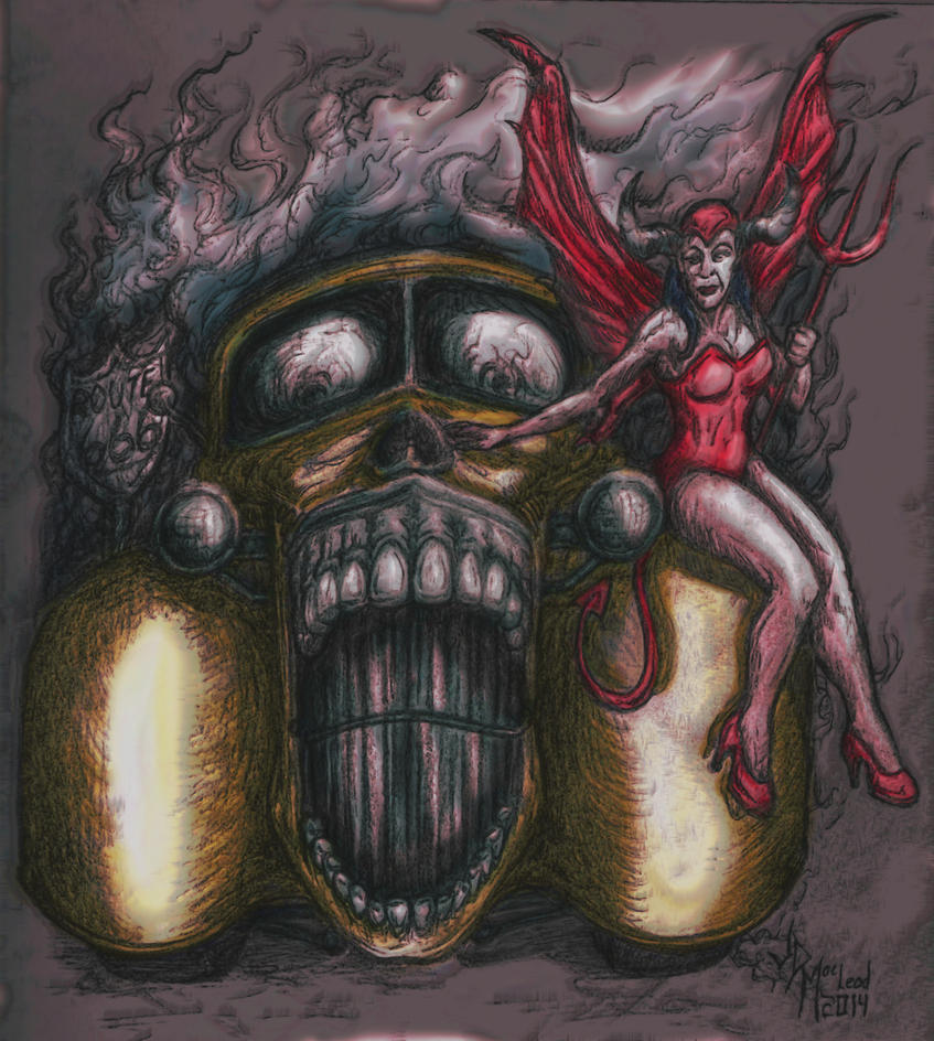 Hot Rod/She Devil by jdmacleod