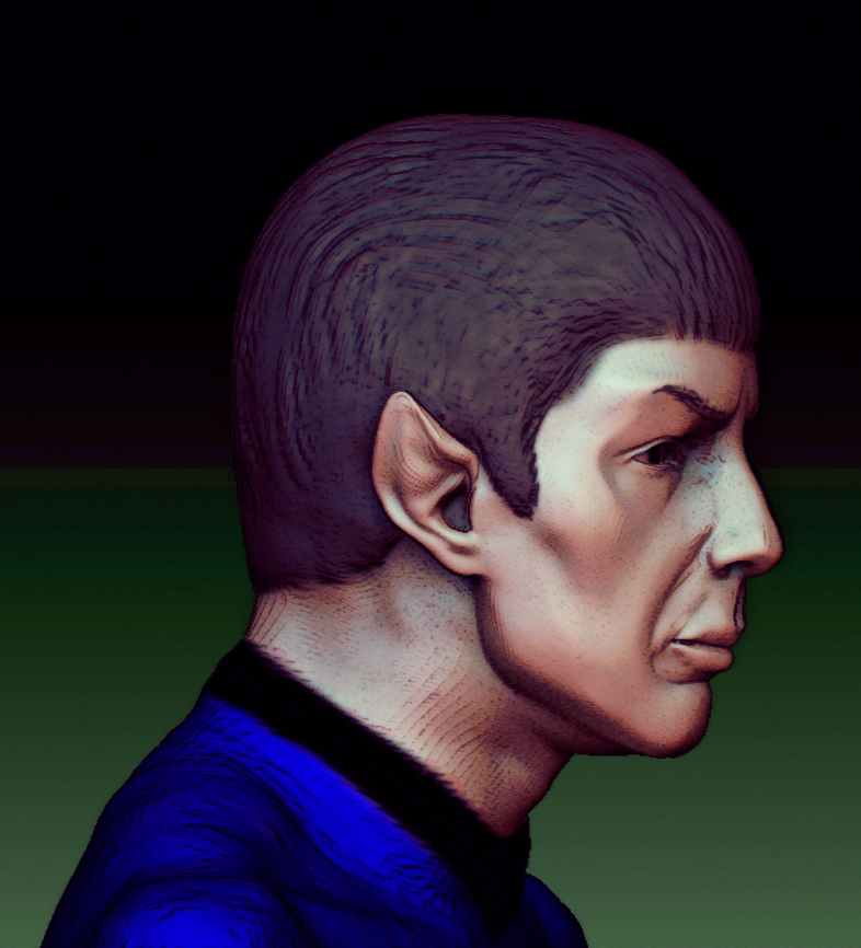 Leonord Nimoy by jdmacleod