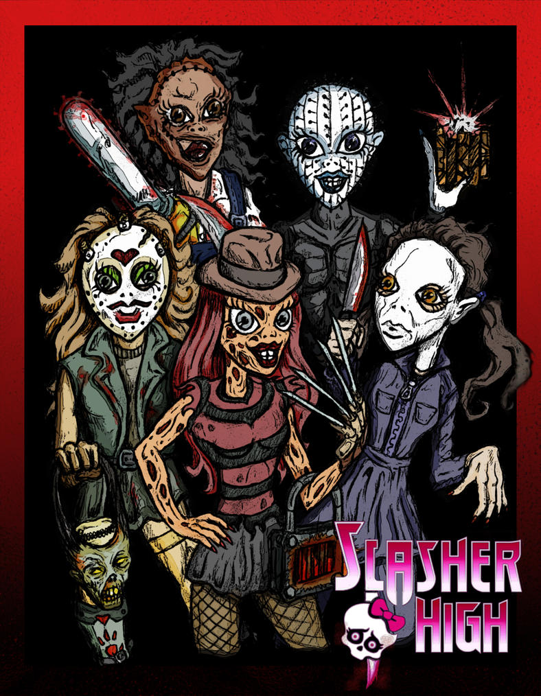 Slasher High by jdmacleod