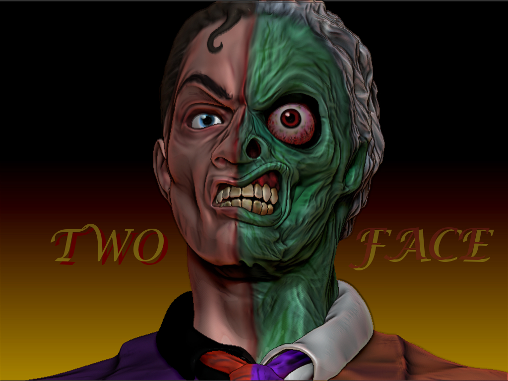 Two-Face by jdmacleod