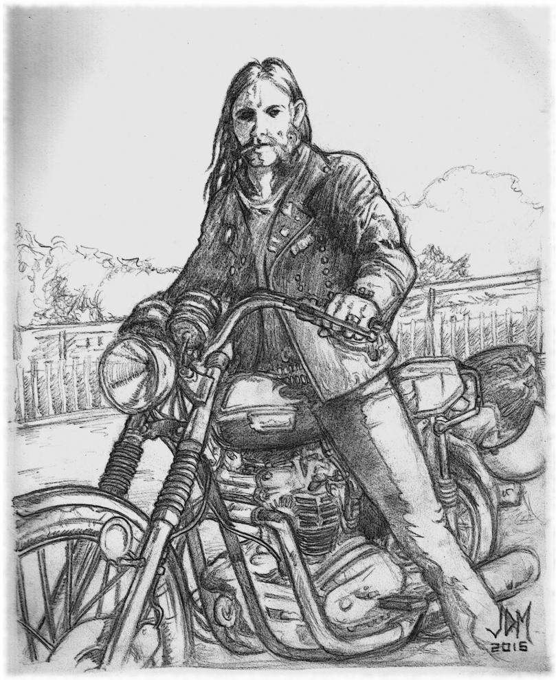 Lemmy Sketch by jdmacleod