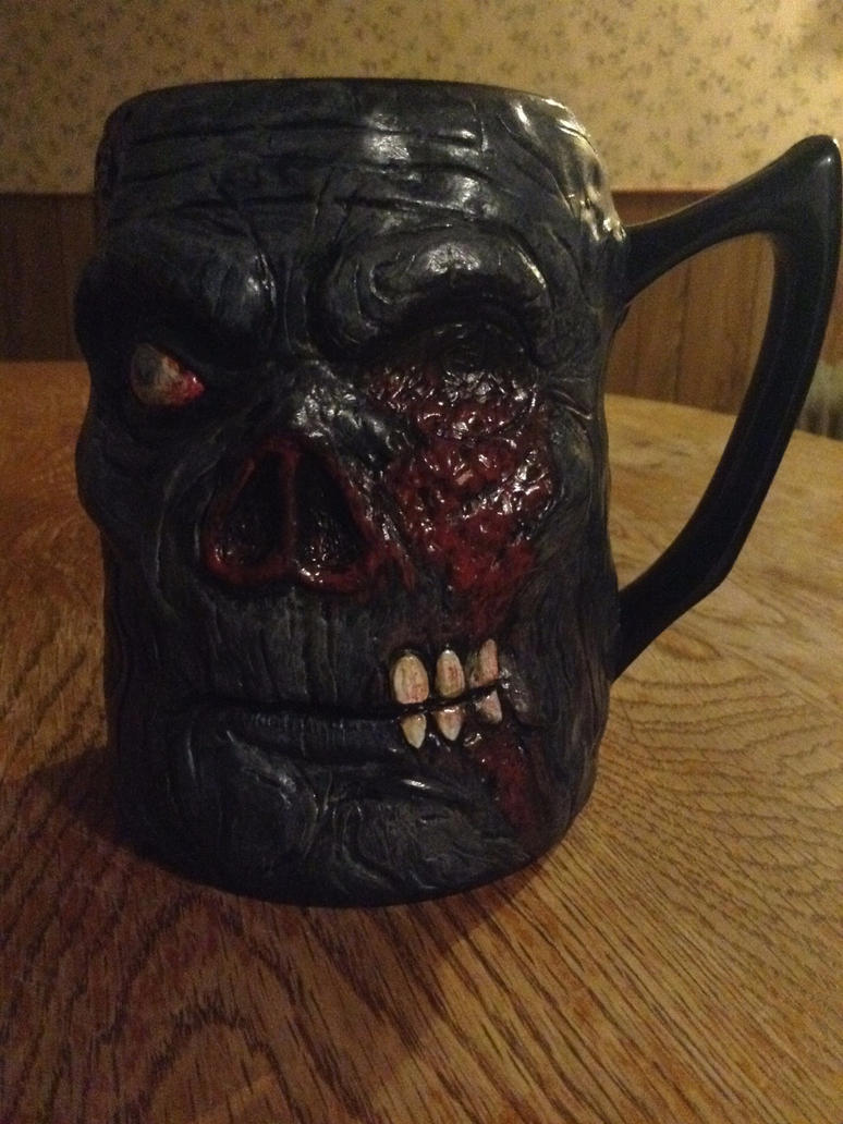 Zombie Mug Side A by jdmacleod