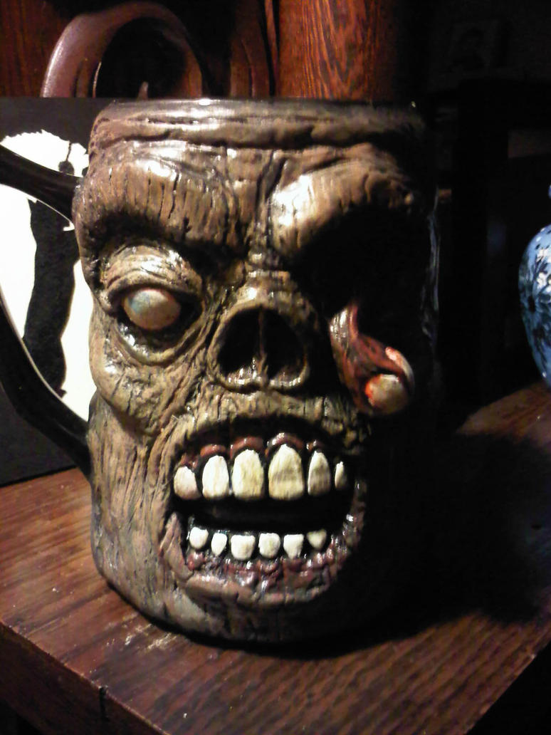 Zombie Mug Side B by jdmacleod