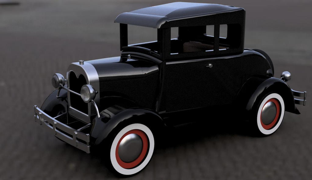 Model A 32 Ford by jdmacleod