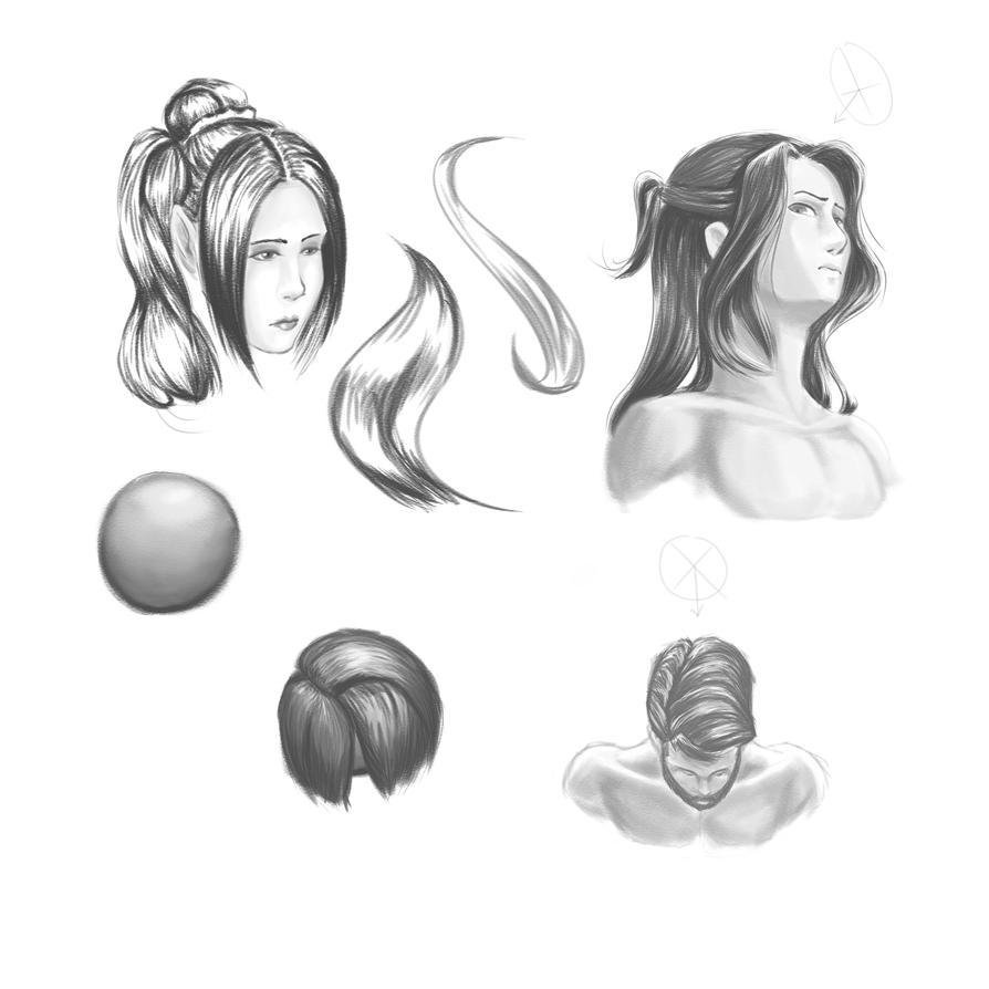 Hair Practice by jebaena91