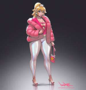 201 - Peach fanart