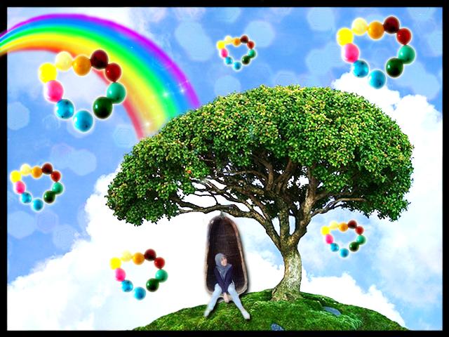 Colourful Hills by littlefaerish
