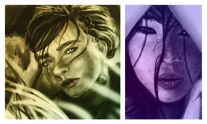portraits study 2 by monorok