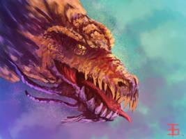 Dragon head by monorok