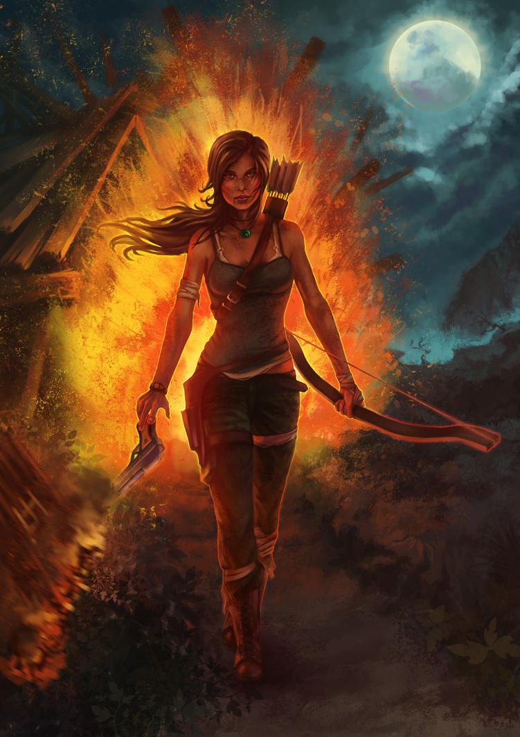 Tomb Raider by monorok