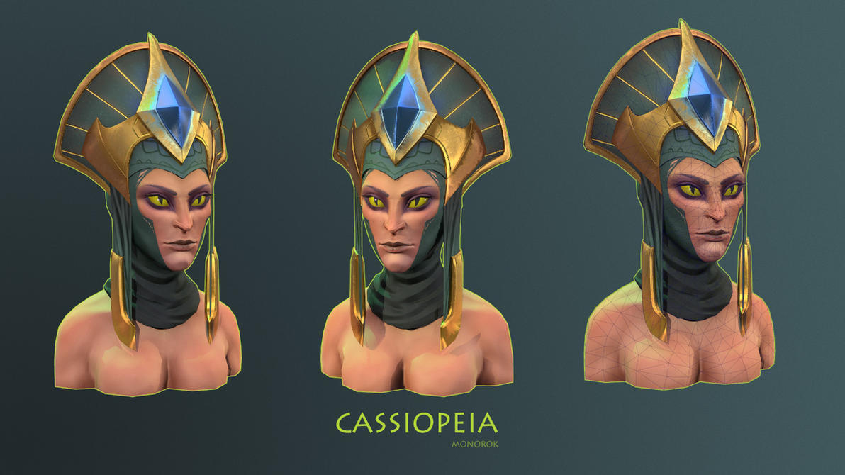Cassiopeia by monorok
