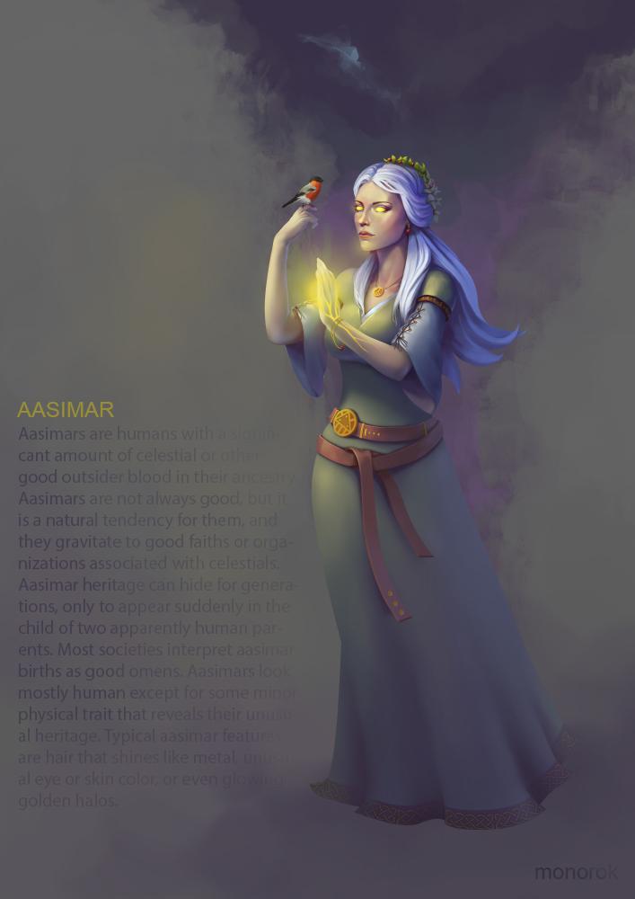 Aasimar by monorok