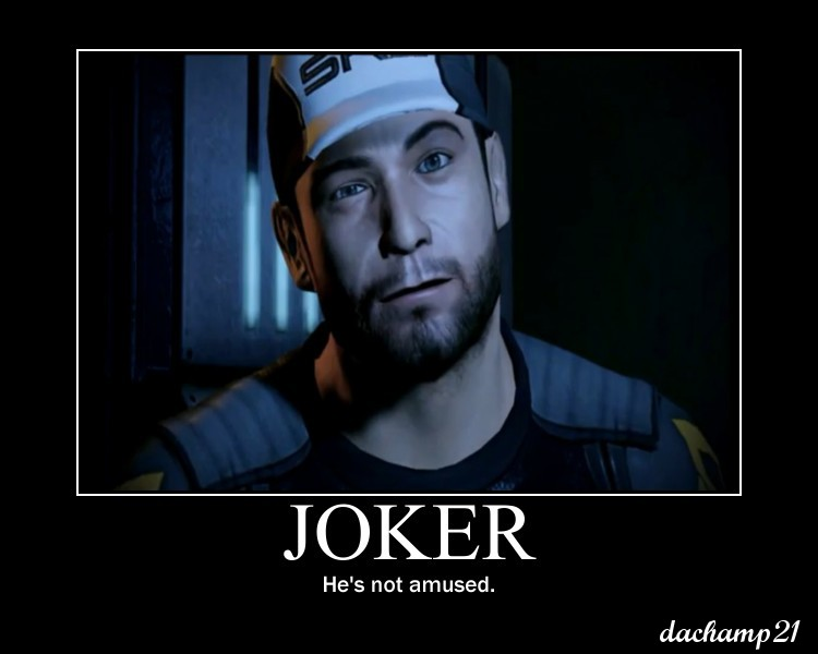 Mass Effect Poster Joker by dachamp21X