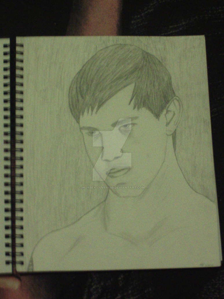 My Drawing of Jacob Black by Horsey-Luver450