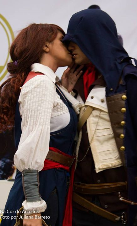 Elise And Arno Assassins Creed Unity By Vforvitoria On Deviantart