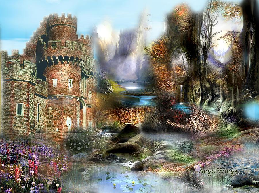 heavenly castle by angelwingsdesign via Angel-Wings