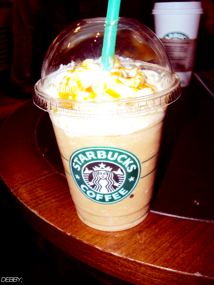 Caramel Frappuccino Starbucks By Debbi 3 On Deviantart