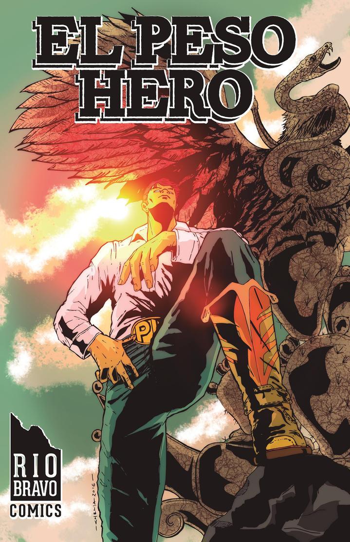 EL PESO HERO: BORDER STORIES 1 by C-H-E-M-A