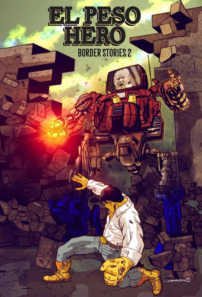 EL PESO HERO: BORDER STORIES 2 by C-H-E-M-A