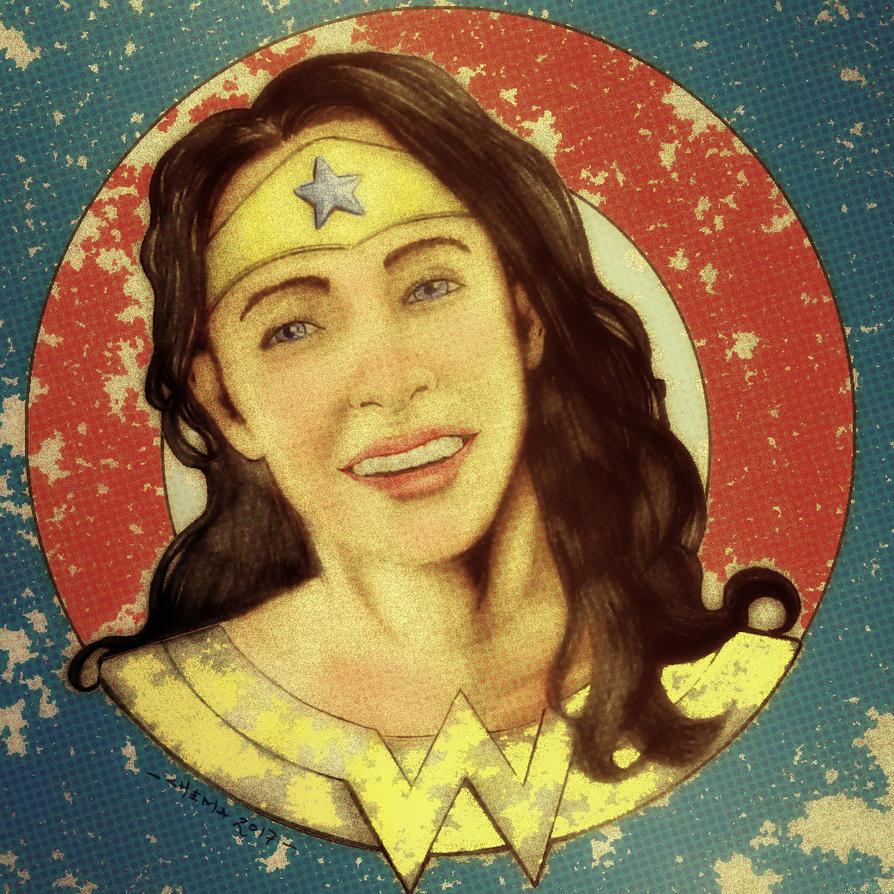 Wonder Woman Color by C-H-E-M-A