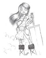 Luigil's Warrior by renecordova