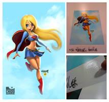 TNT Supergirl Print by renecordova
