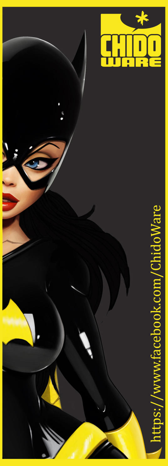 Batgirl Print WIP by renecordova