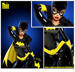 Batgirl Print LA MOLE DF by renecordova
