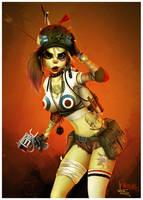 Tank Girl by renecordova