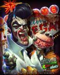 Elvis zombie slots app commission by renecordova