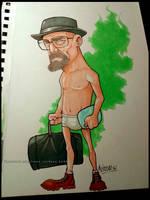 Heisenberg Caricature by renecordova