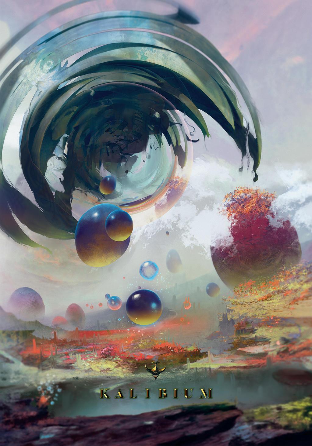 Throne of Liquid by MalariaArt