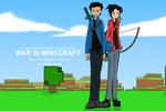 War in Minecraft First Poster